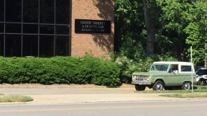 1974 Ford Bronco Outside My Office