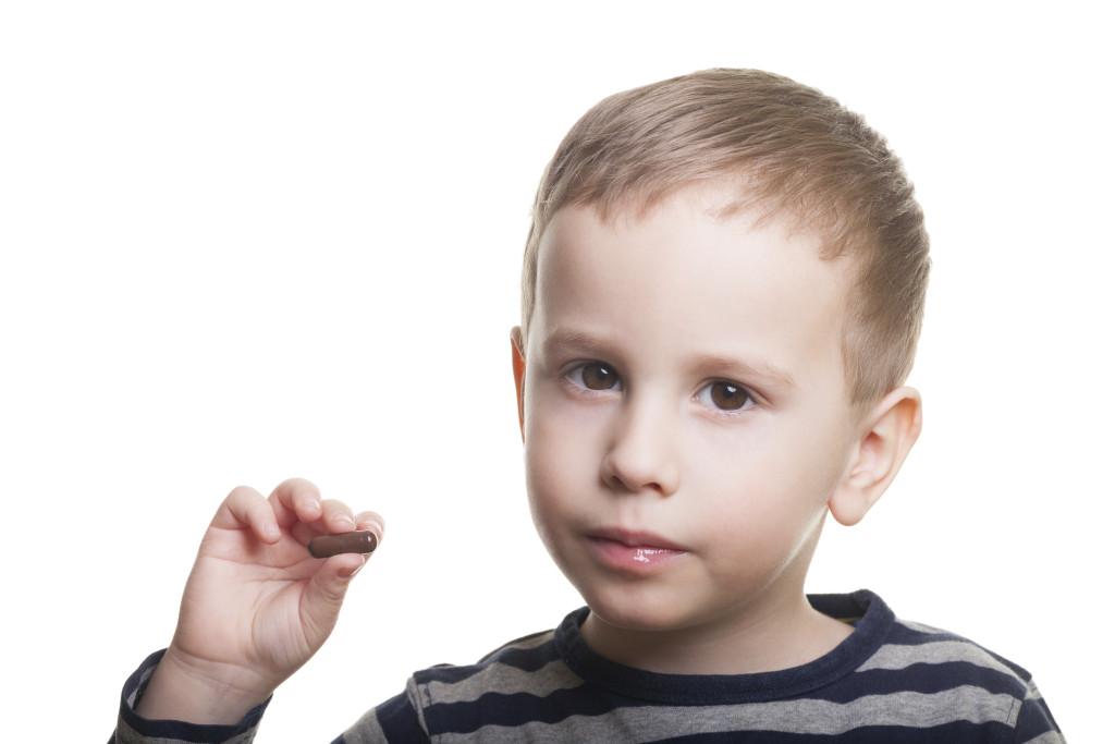 Boy taking Risperdal