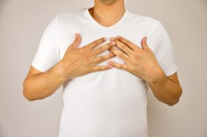 Young man Risperdal gynecomastia