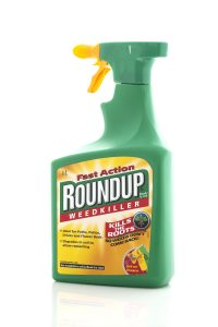 Roundup weedkiller with glyphosate can cause cancer
