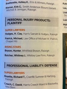 Clay Hodges is a 2021 Super Lawyer